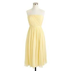Petite Mindy dress in silk chiffon