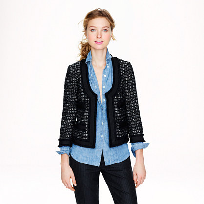 Collection black tweed jacket