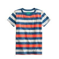 Boys' heathered stripe tee