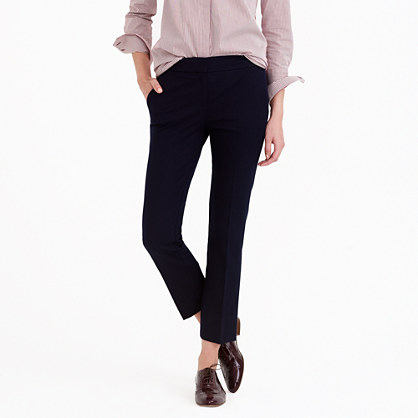 Tall Campbell capri pant in stretch cotton
