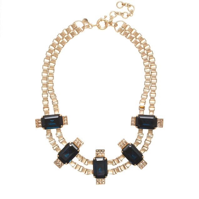 Radiant statement necklace