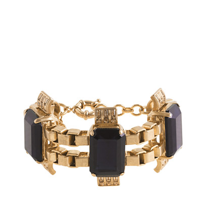 Radiant statement bracelet