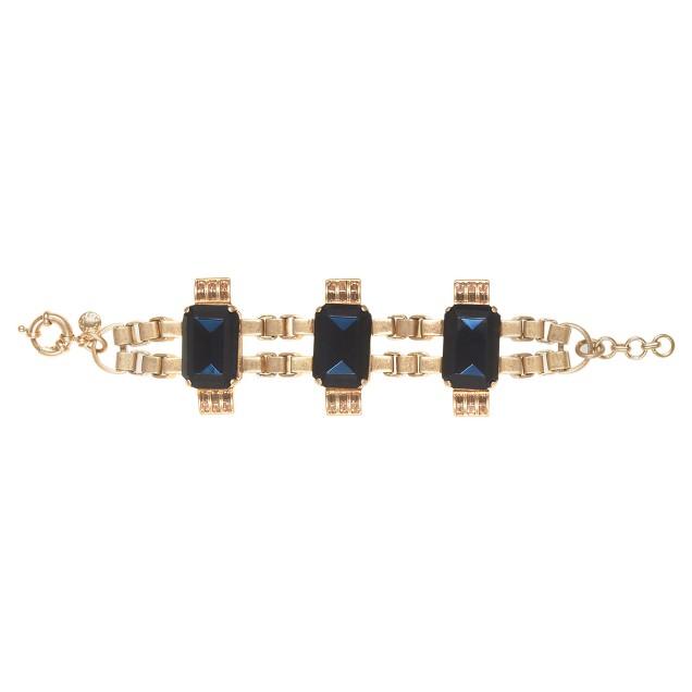 Radiant statement bracelet