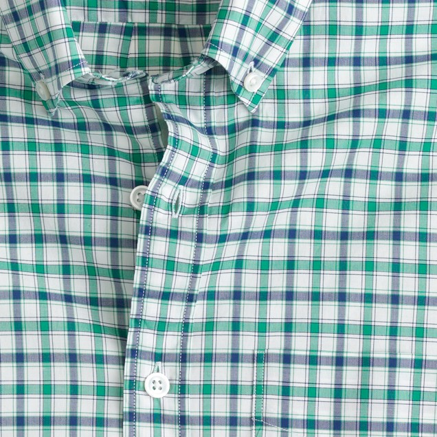 Thomas Mason® Archive for J.Crew shirt in 1895 check