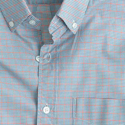 Thomas Mason® Archive for J.Crew shirt in 1919 check