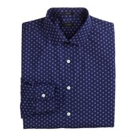 Ludlow spread-collar shirt in spring paisley