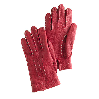 Dents® for J.Crew cashmere-lined leather gloves