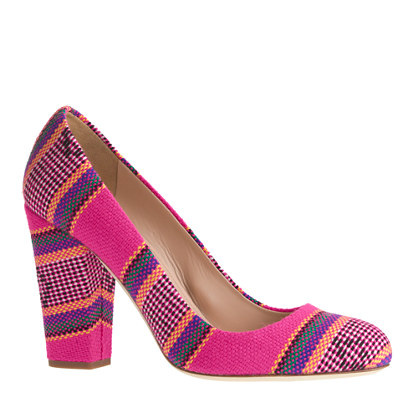 Collection Blakely summer stripe pumps