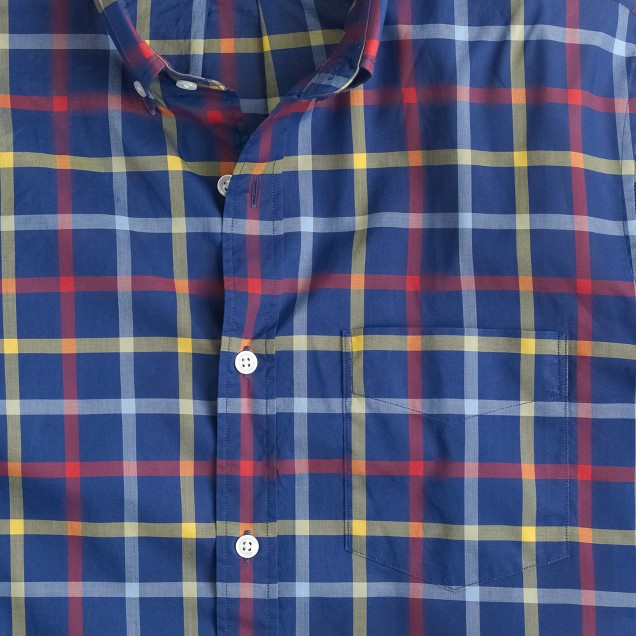 Thomas Mason® Archive for J.Crew shirt in 1927 check