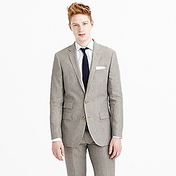 Ludlow suit jacket in délavé Italian linen