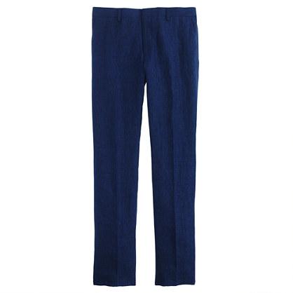 Ludlow suit pant in délavé Italian linen