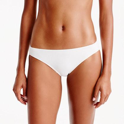 Bikini bottom in Italian matte