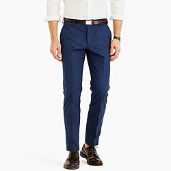 Ludlow suit pant in Italian cotton piqué