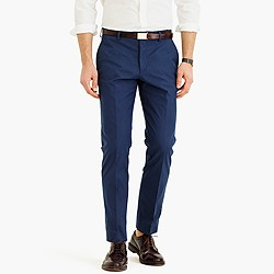 Ludlow suit pant in Italian cotton piqué