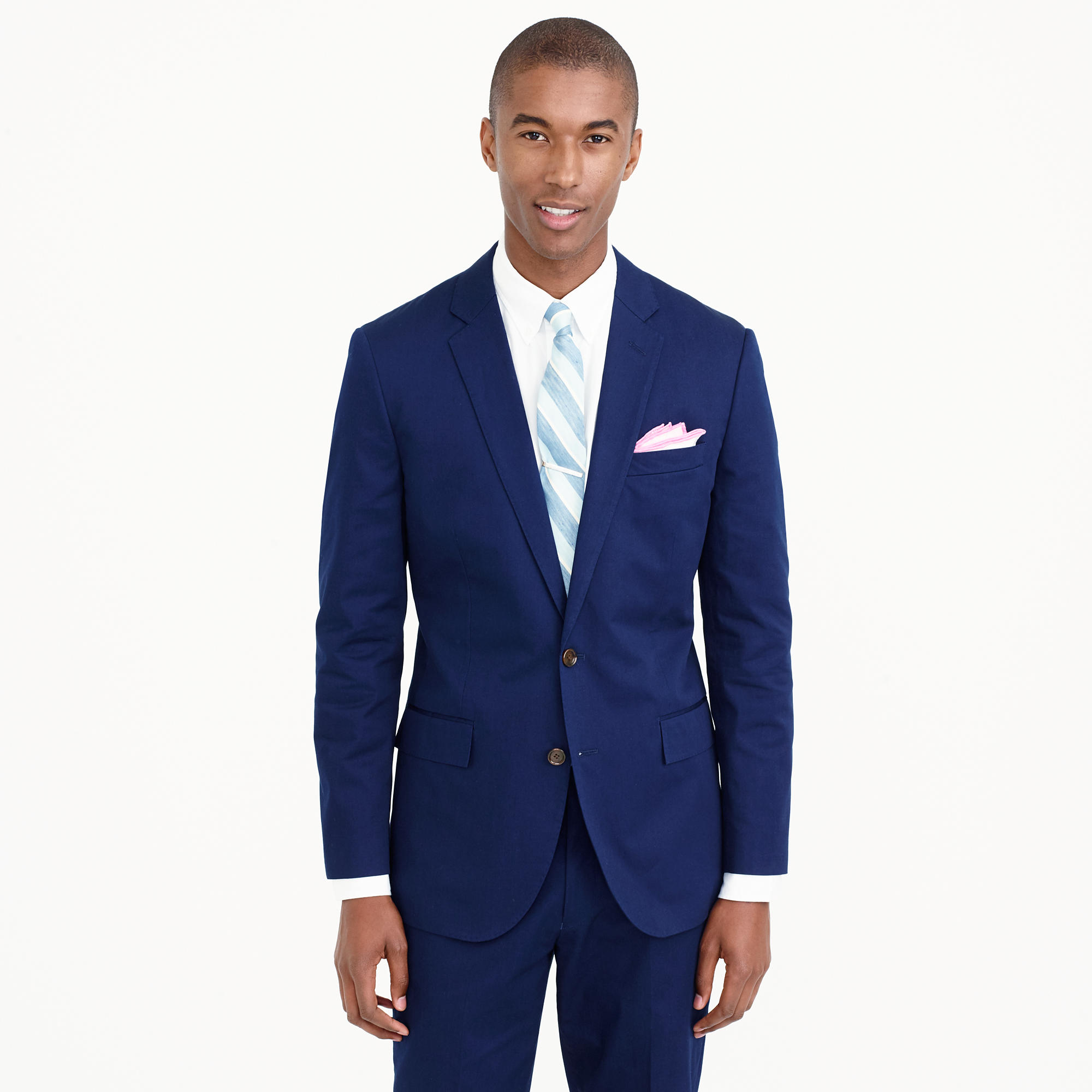Ludlow Suit Jacket With Double Vent In Italian Chino : Men's
