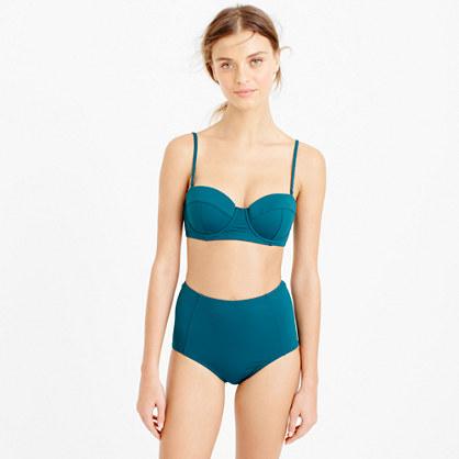 Italian matte underwire bikini top