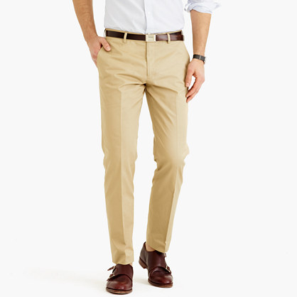 Ludlow suit pant in Italian chino