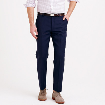 Ludlow classic Traveler suit pant in Italian wool