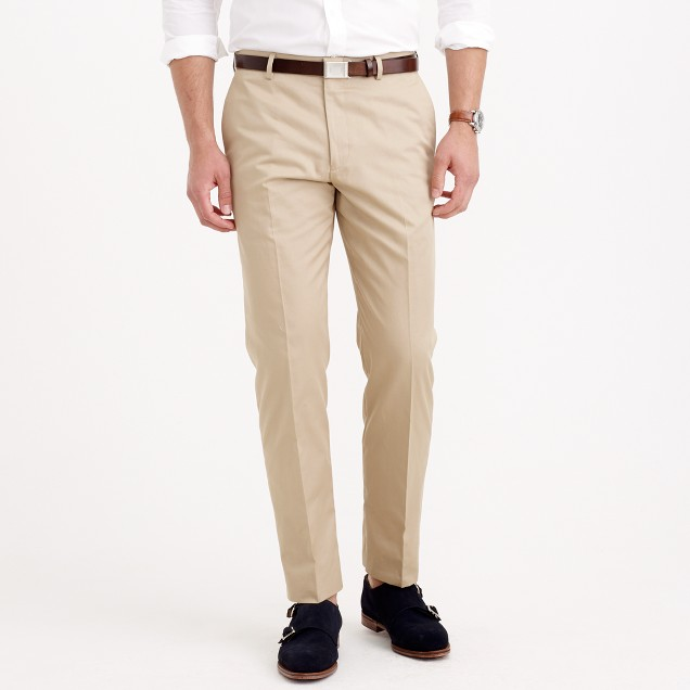 Ludlow classic suit pant in Italian chino