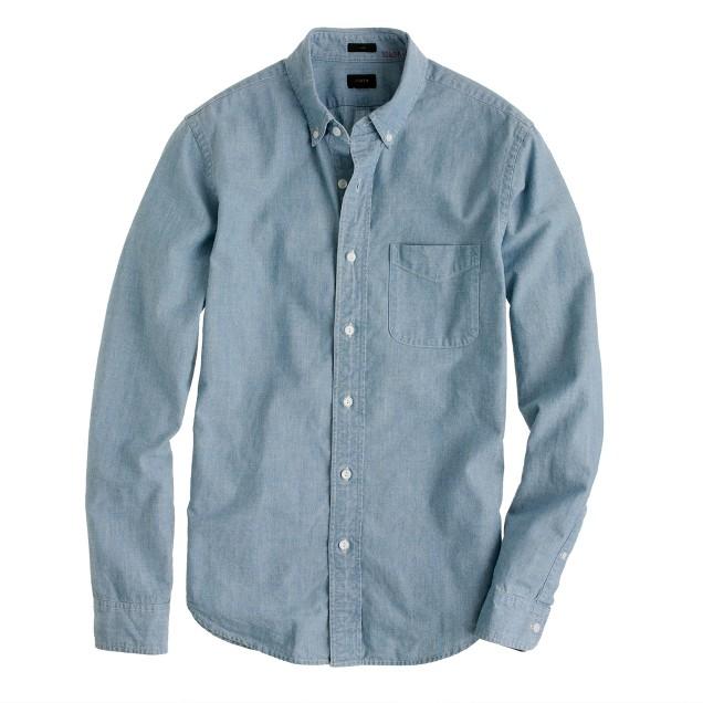 Slim Japanese chambray shirt