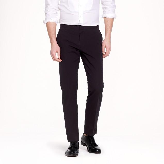 Ludlow slim tuxedo pant in Japanese seersucker