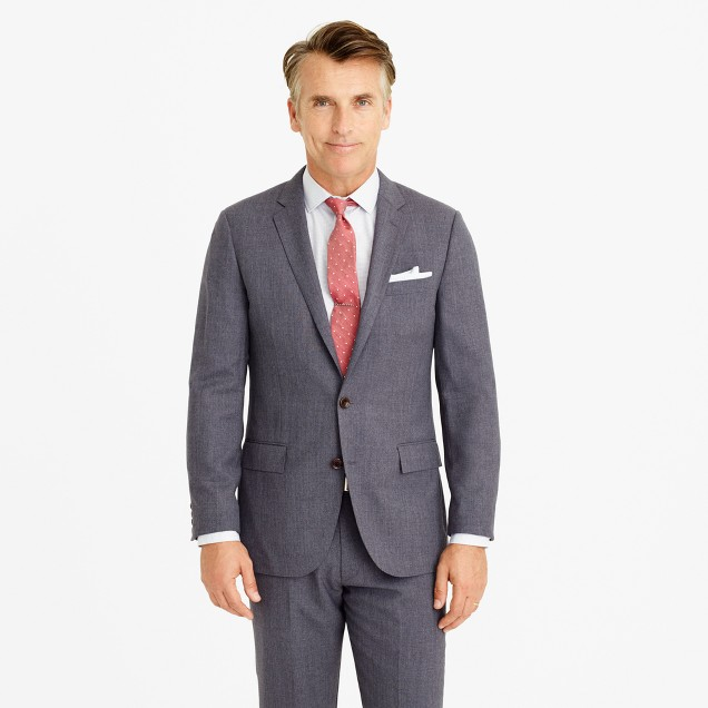 Ludlow Traveler suit jacket in Italian wool