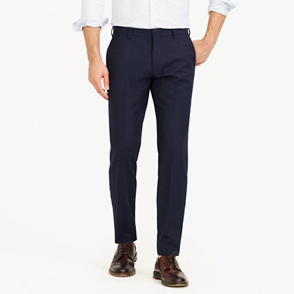 Ludlow Traveler suit pant in Italian wool