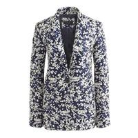 Collection Rylan blazer in haven blue jacquard