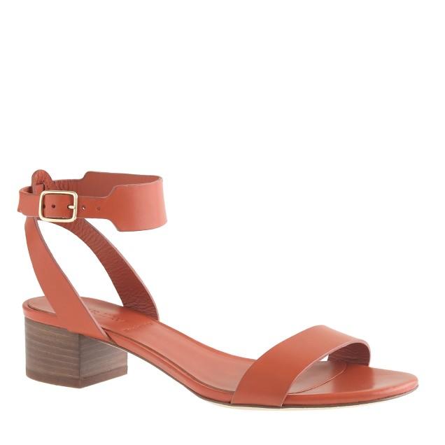 Evie midheel sandals