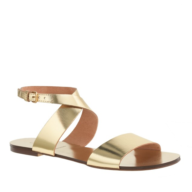 Callie metallic sandals