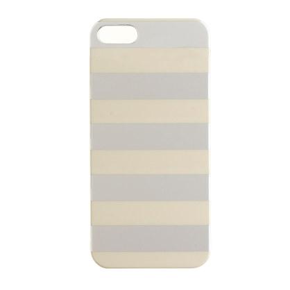 Metallic stripe case for iPhone® 5/5s