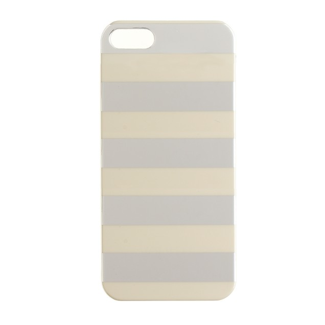 Metallic stripe case for iPhone® 5/5s