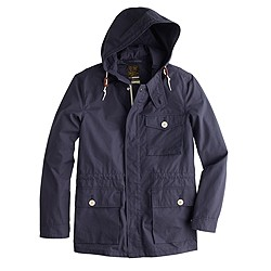 Wallace & Barnes Ventile® hooded jacket