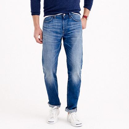 1040 slim-straight jean in vintage light worn wash