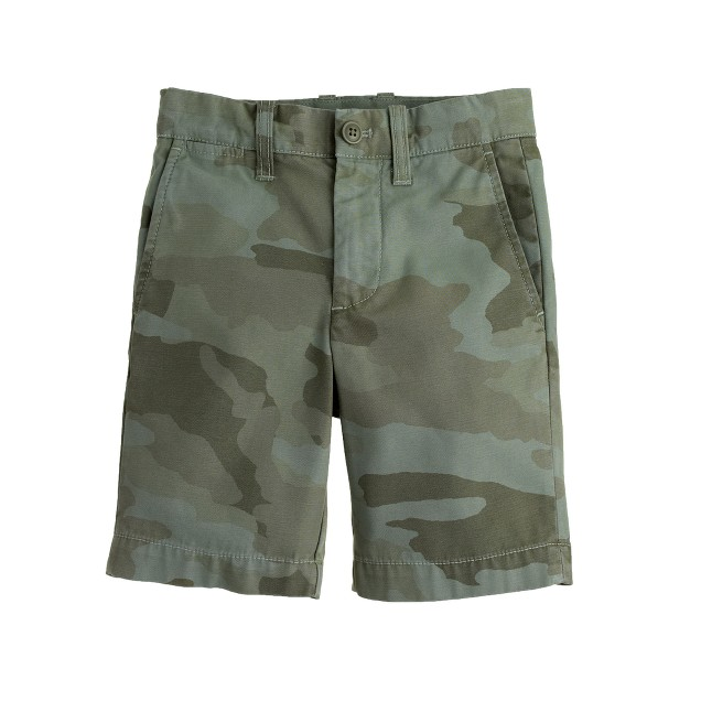 Boys' Stanton short in camo