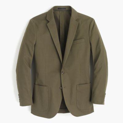 Ludlow blazer in Italian cotton