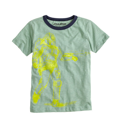 Boys' glow-in-the-dark clone trooper Star Wars™ tee
