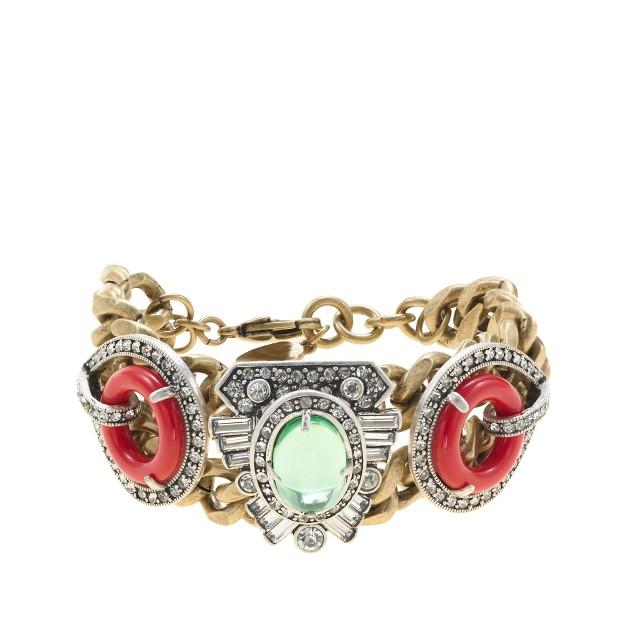 Lulu Frost for J.Crew Indian summer bracelet