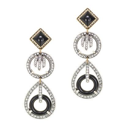 Lulu Frost for J.Crew equinox earrings