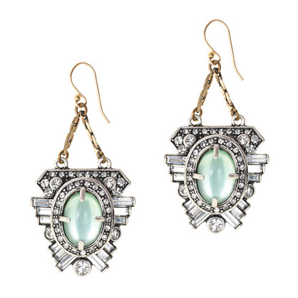 Lulu Frost for J.Crew harvest moon earrings