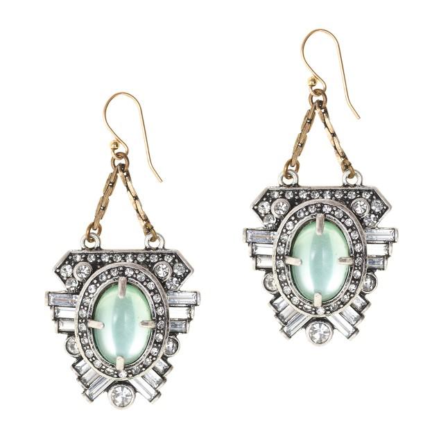 Lulu Frost for J.Crew harvest moon earrings