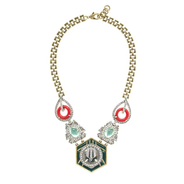 Lulu Frost for J.Crew harvest moon necklace