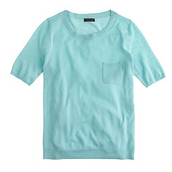 Collection featherweight cashmere pocket T-shirt