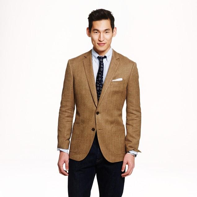 Ludlow sportcoat in Italian cotton-silk-linen