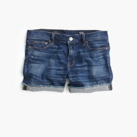 Denim short in dark von wash