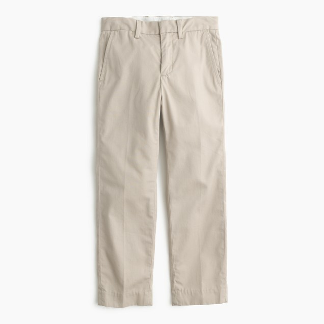 Boys' lightweight chino in slim fit