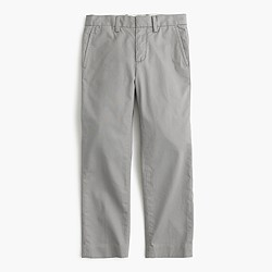 Boys' lightweight chino pant in slim fit