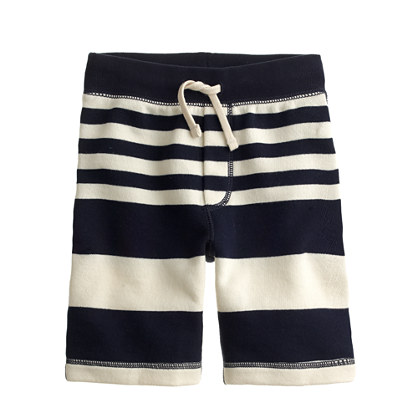 Boys' Cooper sweatshort in rugged terry