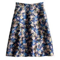 Collection circle skirt in nightgarden floral