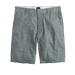 "10.5"" club short in Japanese chambray"